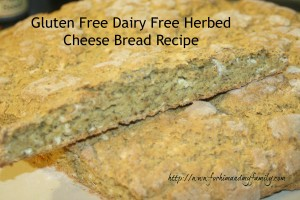 Allergen Friendly Cheese Bread