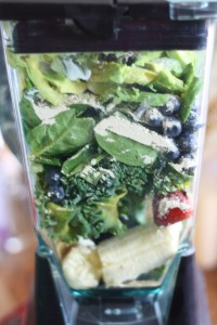 post exercise workout smoothie