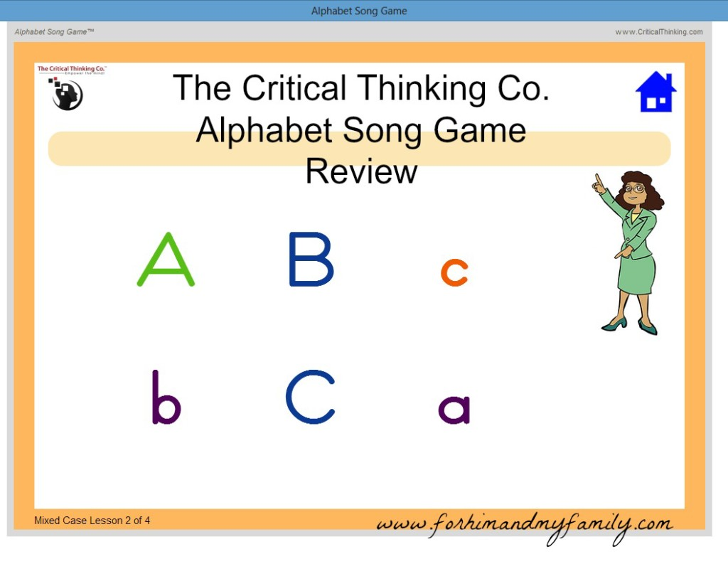 Alphabet Song Game Review