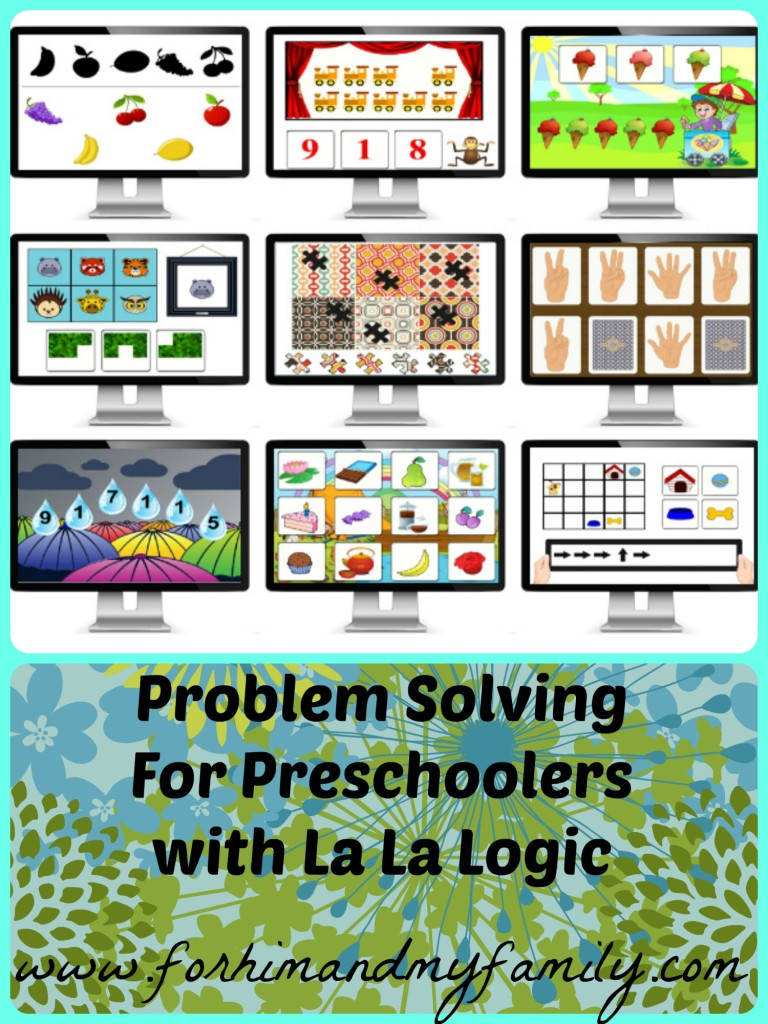 La La Logic Problem Solving for Preschoolers