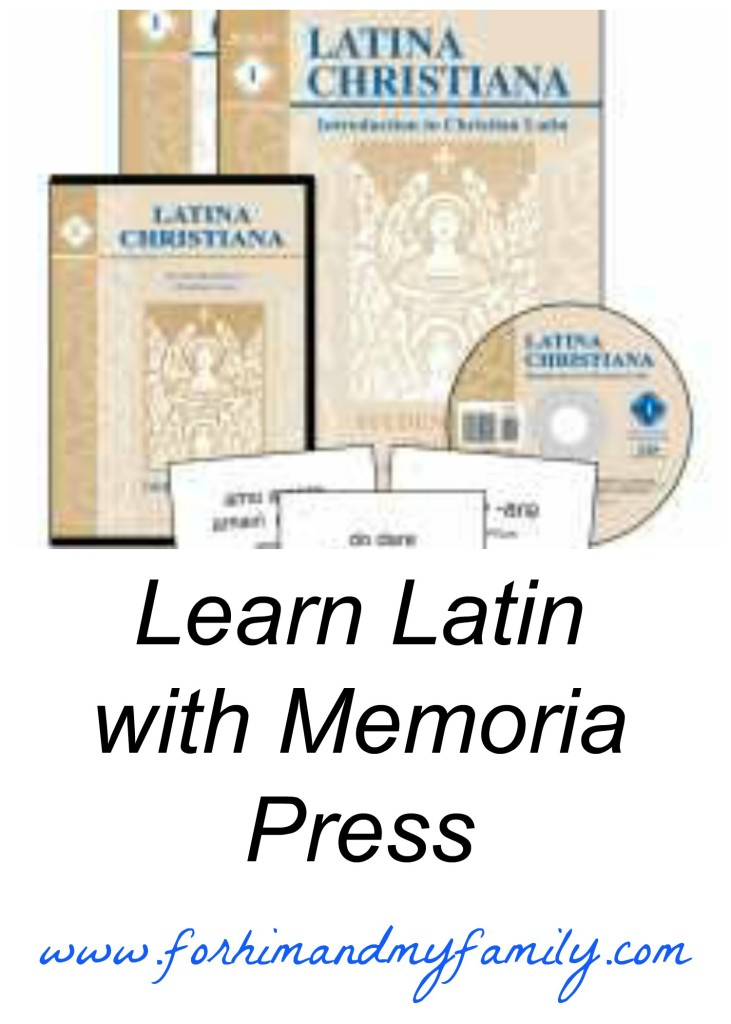 Learn Latin with Memoria Press {TOS Crew Review}