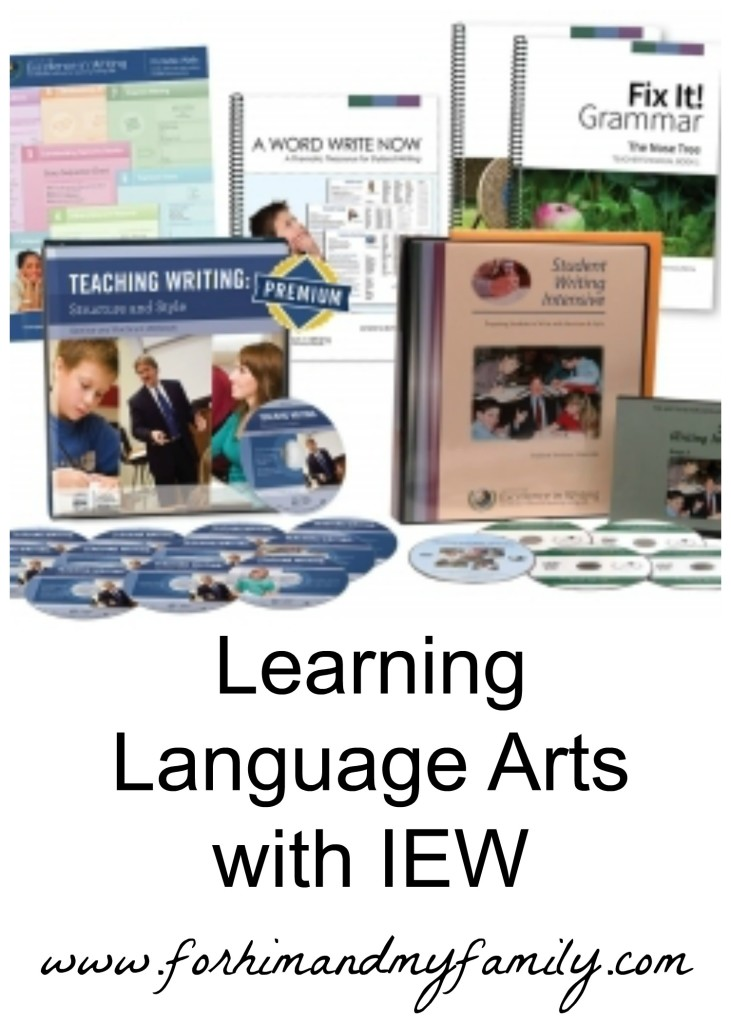 Learning Language Arts with IEW