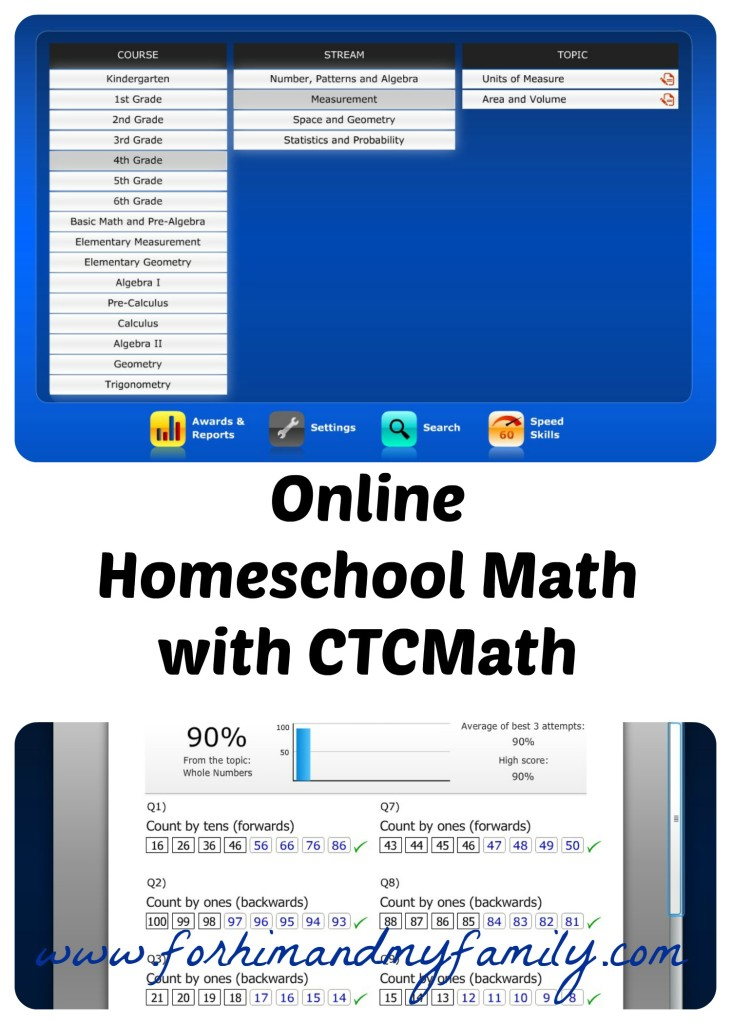online homeschool math with CTCMath {TOS Crew Review}