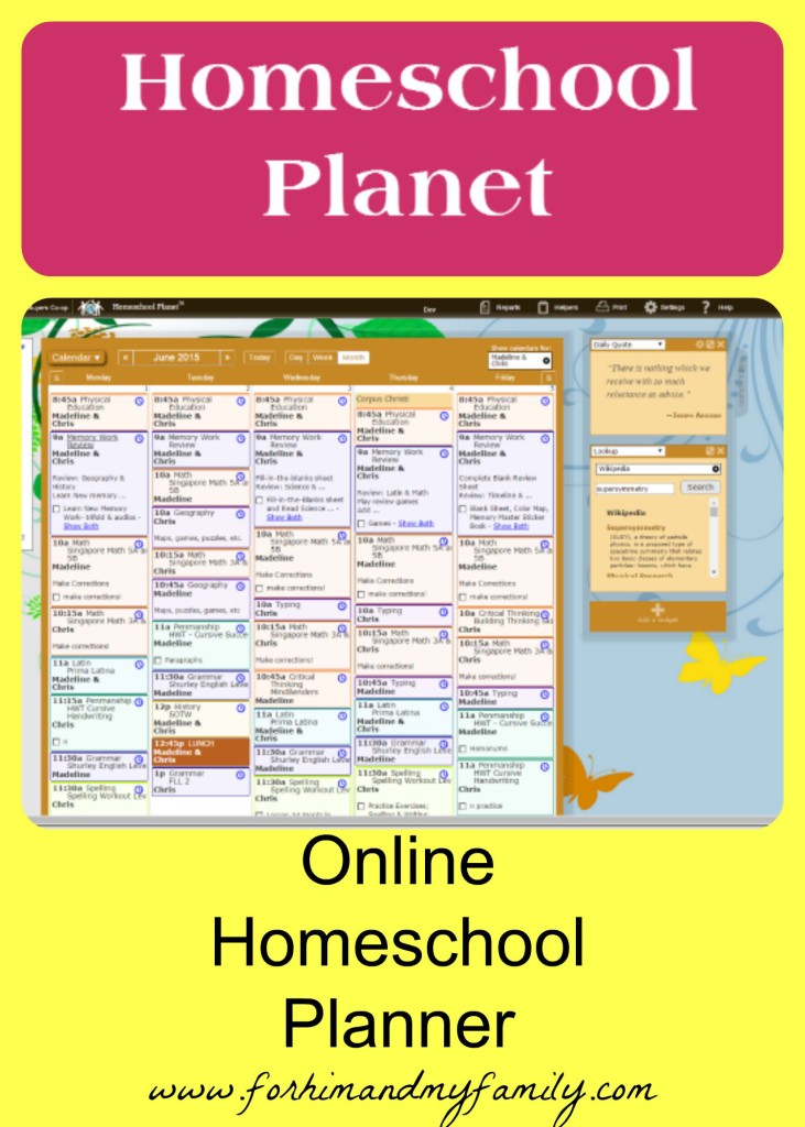Online Homeschool Planner Tos Crew Review For Him And