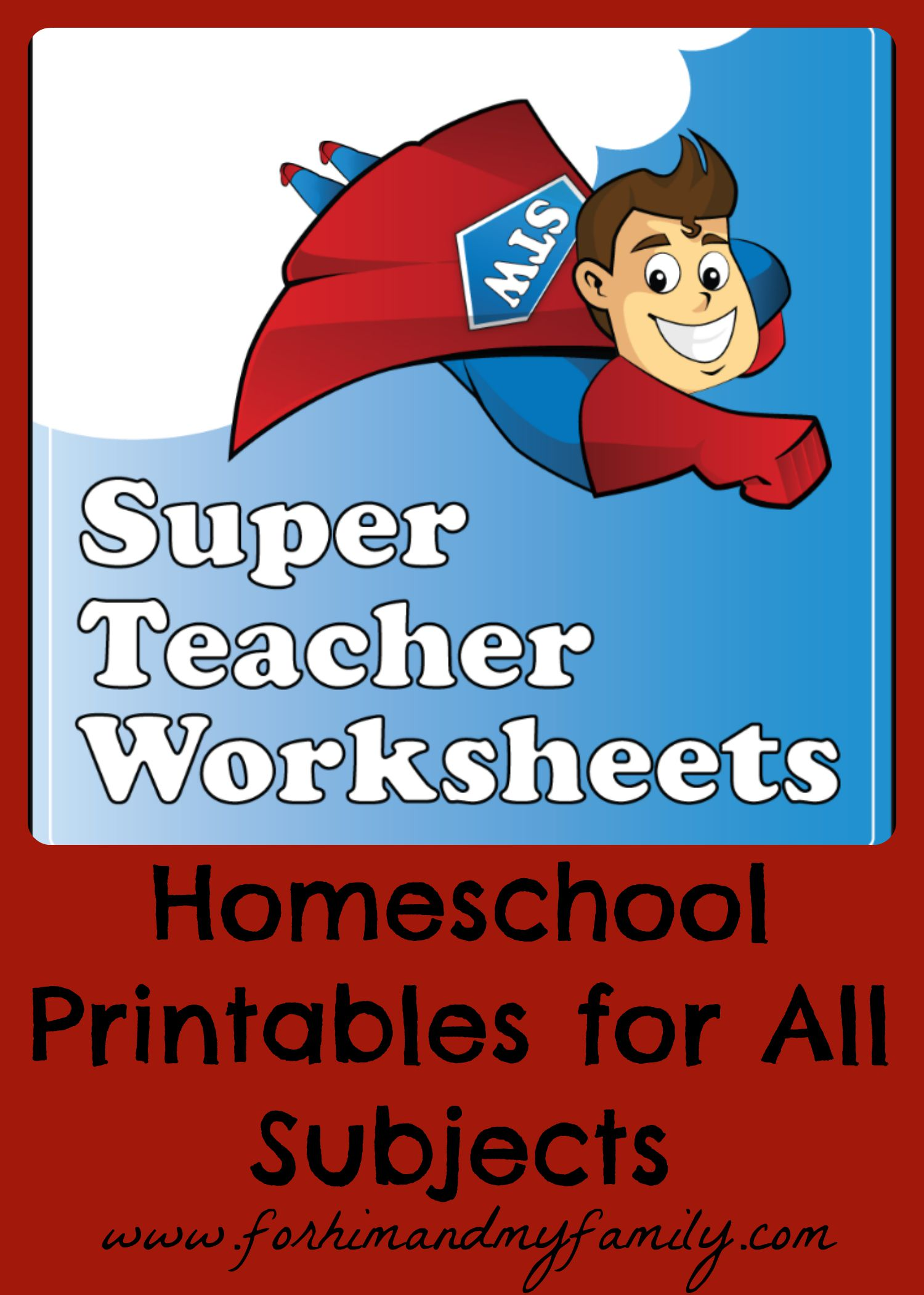 Homeschool Printables for ALL Subjects {TOS Crew Review} - For Him ...