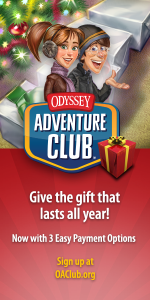 Merry Christmas From Odyssey Adventure Club