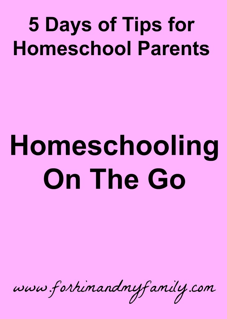 Homeschooling on the Go