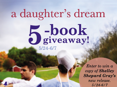 Book Giveaway {A Daughter's Dream ends 6/7}