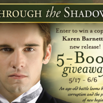 Win Through The Shadows Giveaway {ends 6/6}