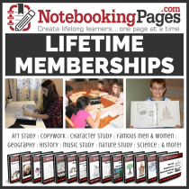 Homeschool Notebook Pages