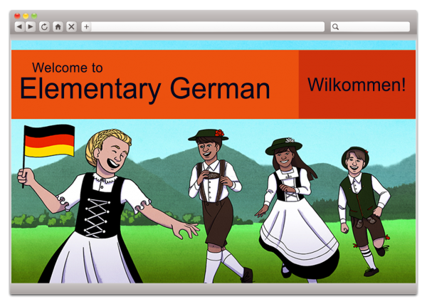 Elementary German (Homeschool Review Crew)